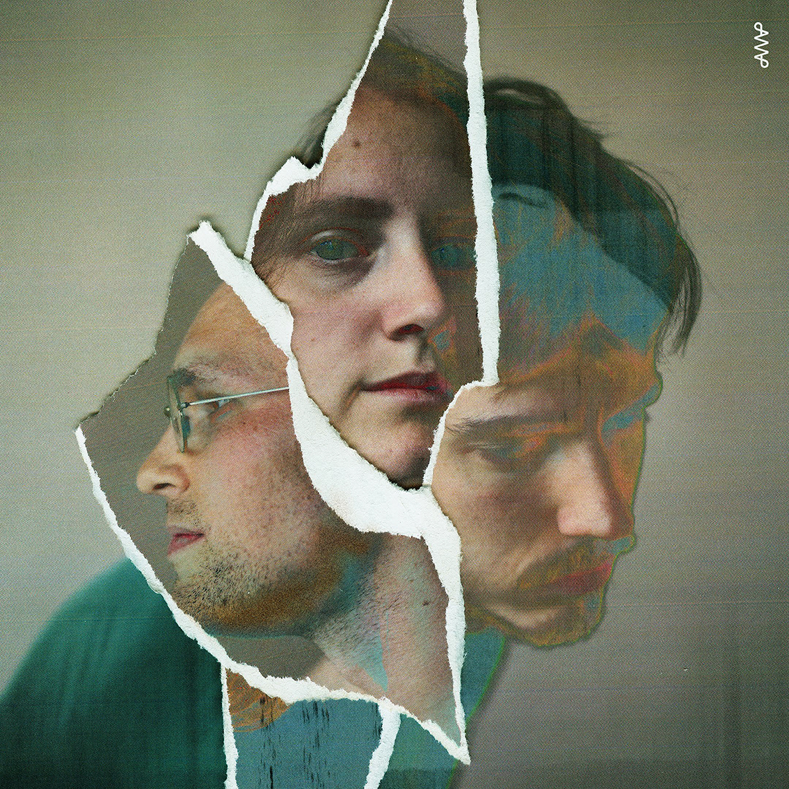 Collage av de tre medlemmarna i post sun vision
