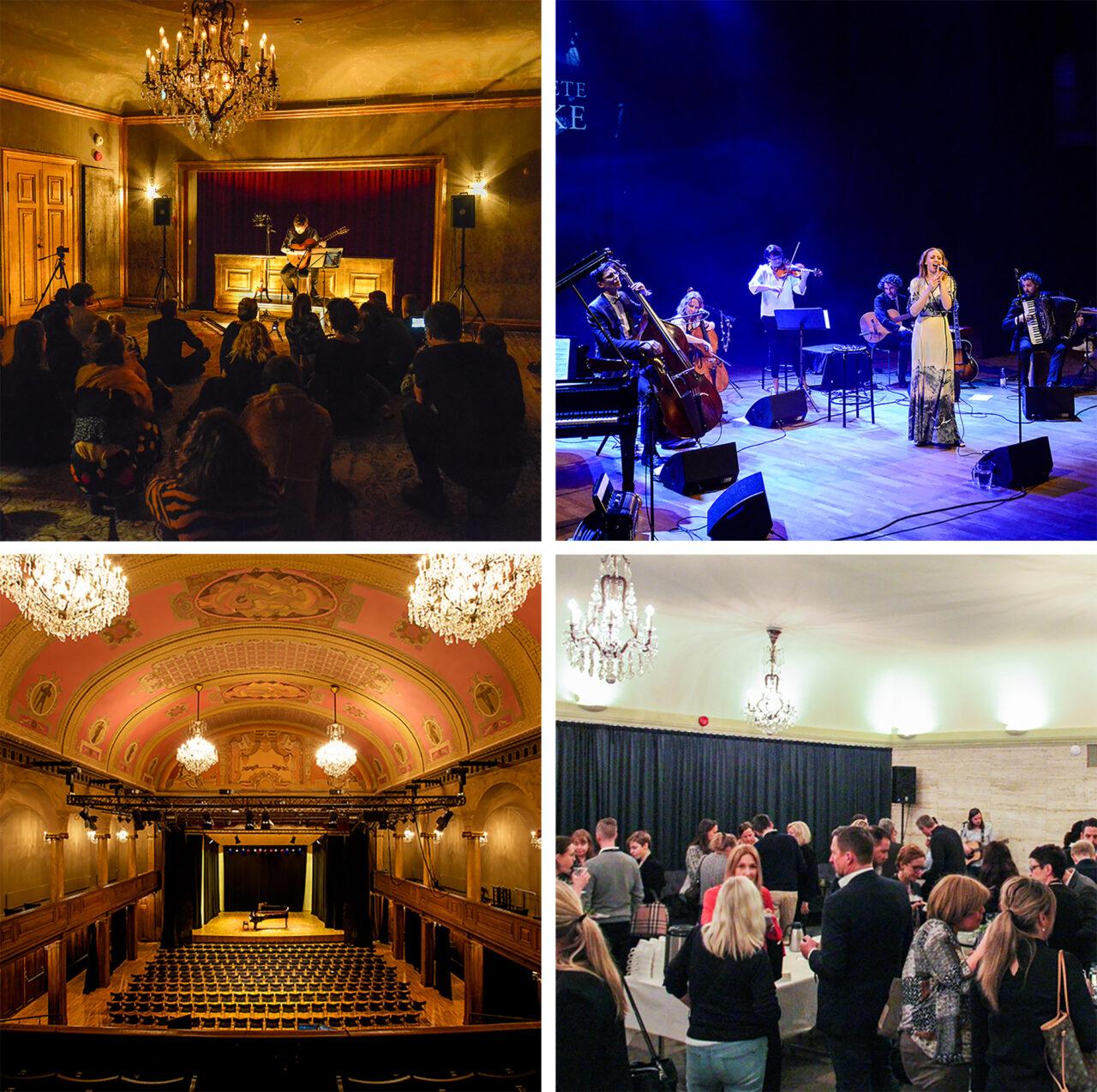 konsert och mingelbilder