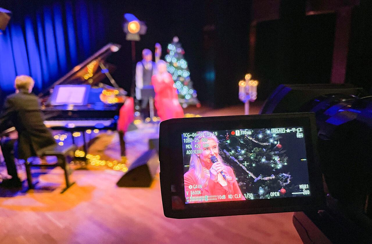 inspelning av konsert på scenen Palladium