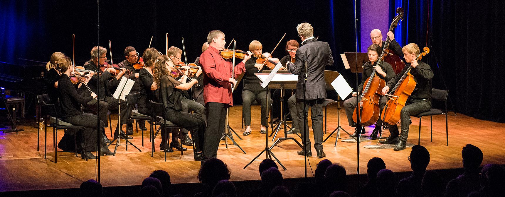 konsert klassisk musik på scenen Palladium