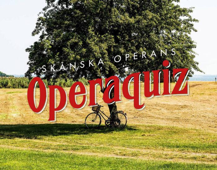 Ett träd, en cykel och operaquiz